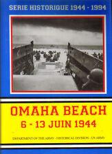 série historique 1944 1994 Omaha beach 6/13 juin  1944 us army 1993