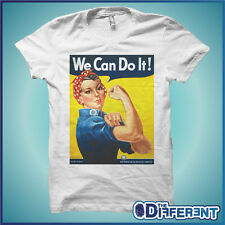 T-SHIRT MANIFESTO WE CAN DO IT ! MUSCLE THE HAPPINESS IS HAVE MY T-SHIRT NEW