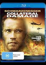 COLLATERAL DAMAGE - BRAND NEW & SEALED BLU RAY (ARNOLD SCHWARZENEGGER)