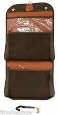 Bric's Life Olive Tri-Fold Traveler Toiletry Case Bag NEW