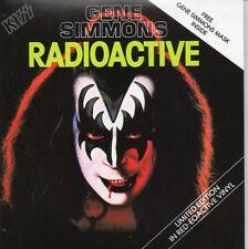 ★☆★ CD Single KISS - Gene SIMMONS Radioactive 2-track CARD SLEEVE    ★☆★