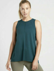 ATHLETA Foothill Tank Seamless S Small Lagoon Teal   NWT #211277