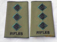 Lineas de Rango : Rifles, Capitán, Oliva