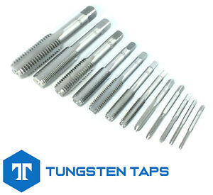 """Bottoming Plug Tap Unified SAE UNC UNF 1/4 5/16 3/8 7/16 1/2 9/16 5/8 3/4"""" UK"""