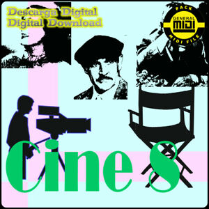 CINE 8 - Pack 8 Midi Files. Descarga Digital. Escucha Demos. General Midi
