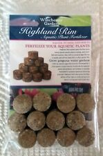Highland Rim Water Lily Pad Fertilizer - Fast Acting - 12 Tabs - 10 Grams