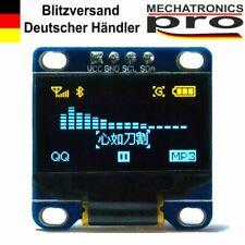 OLED Display I2C IIC 0.96 LCD Blau/Gelb Arduino Raspberry Pi 128X64 TWI SSD1306