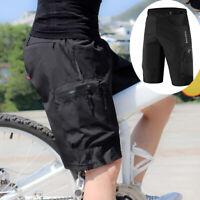 Ciclismo Baggy Shorts MTB Bike Pantalones Corto Gel Acolchado Sport Shorts M-3XL