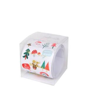 J. Crew Meri Meri Holiday Christmas Mini Stickers Sticker Roll AK390 480