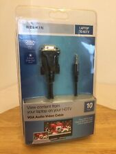 Belkin Vga Adapter To Hdtv Audio Video Cable