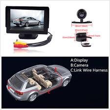 """4.3 """"LCD voiture moniteur écran rétroviseur + 170 ° CCD voiture caméra arrière kits"""