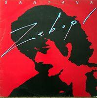 Santana LP Zebop! - Europe (VG/VG)