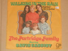 "THE PARTRIDGE FAMILY STARRING DAVID CASSIDY -Walking In The Rain- 7"" 45"