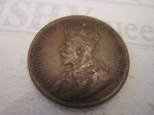 1919 ONE CENT! Vintage CANADA coin: GEORGE V copper    IS38