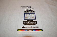 METAL DETECTING BOOK ~ WHITE'S ~ SPECTRA V3 ~ FIELD GUIDE ~ NEW OLD STOCK