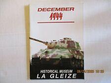 HISTORICAL MUSEUM LA GLEIZE DECEMBER 1944
