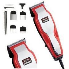 Wahl 79110 HomePro Baldfader Netzstrom Mens Hair Cut-Scherer-Trimmer Red Neue