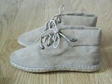 Rocket Dog Tepee Ladies Espadrille Ankle Boots Sand Beige Size 4 / 37