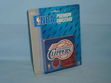 LOS ANGELES CLIPPERS   Premium Coaster Set 10 PACK COASTERS    NIP   by RICO