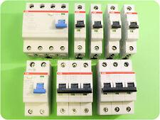 ABB FI Fehlerstrom-Schutzschalter -/-  LS-Schalter Sicherungsautomat