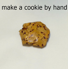 Make a cookie by crumpling the paper by hand. funny gift, 8 sheets (8 cookies)