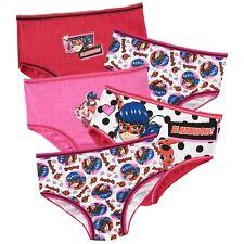 Kids Miraculous Knickers Pack of 5 | Miraculous Ladybug Underwear