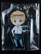 Hetalia Axis Powers The World Twinkle animate Acrylic Key Ring Chain England UK