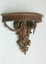 More details for church rare hand carved wooden gothic english mystical style sculpture bracket