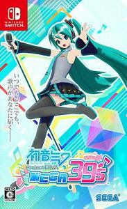 sale! NEW Nintendo Switch Hatsune Miku Project DIVA MEGA39's (Mega JAPAN IMPORT)
