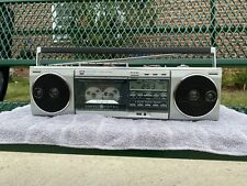 Vintage Boombox Ghetto Blaster General Electric 3-6025B Everything Works