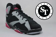 AIR JORDAN 7 VII RETRO GG 442960-008 SPORT FUCHSIA FLASH BLACK  GREY SIZE: 7Y