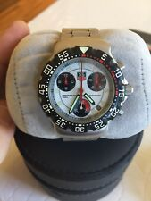 TAG Heuer F1 Chronograph CA 1212-1, white dial