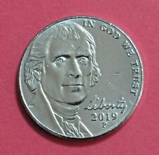 2019-P 5 Cents - Jefferson Nickel