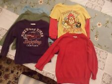 lot 5 toddler boy shirts sweater Baby Gap angry birds 3T Crazy 8 Children's