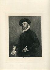 L´Avocat gravure par A. Mongin copie de G.B. Moroni