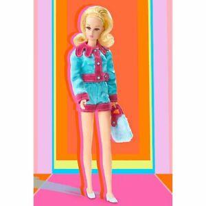 Smashin Satin Francie Barbie Doll 2004 Vintage Repro NIB