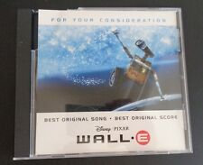 WALL-E For Your Consideration FYC Music CD Peter Gabriel DISNEY Free Ship 2008