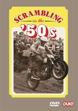 Scrambling in the 1950s (New DVD) Jeff Smith Rickman Lampkin BSA AJS Matchless