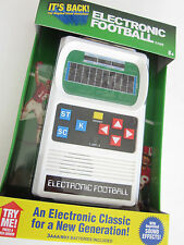 ELECTRONIC FOOTBALL classic1970's  handheld pocket travel portable video game