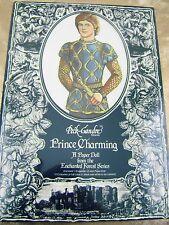 Vtg Paper Dolls 1980s Peck Gandre Prince Chrming Sealed/Shrink Wrap aubry Last 1