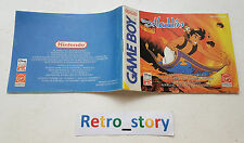 Nintendo Game Boy Aladdin Notice / Instruction Manual