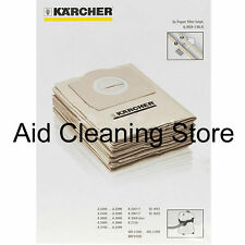Karcher A2201 A2204 A2206 A2234 Wet & Dry Vacuum Cleaner Dust Bags 5PK Genuine