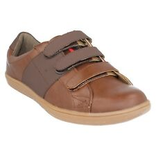 AIF0045 LAMBRETTA MENS CLASSIC WRAP OVER STRAPS LEISURE CASUAL TRAINERS SHOES