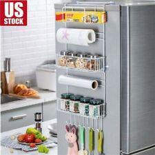 US Kitchen Rack Refrigerator Storage Fridge Organizer Shelf Holder W/Suction Cup
