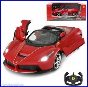 Rastar Radio Control Ferrari Toy Car - LaFerrari Aperta Red 1:14 Scale