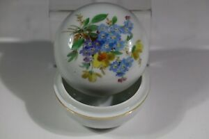 MEISSEN style Pill Box Floral AC6