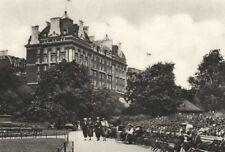 LONDON. Villiers street Victoria garden & Cecil Hotel 1926 old vintage print