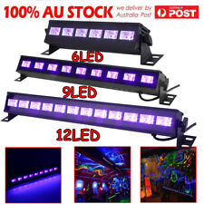 6/9/12LED UV Stage Light Black Light Wall Washer Lamp DMX Bar DJ Disco Party