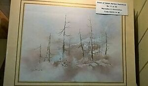 PEGGY BROWN USA-Listed 20th C Artist; Lim. Edn Print Watercolour; 1981; Mounted.