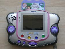 vtech V.SMILE Pocket Handheld Lernkonsole unterwegs in Rosa + TOP mit Spiel